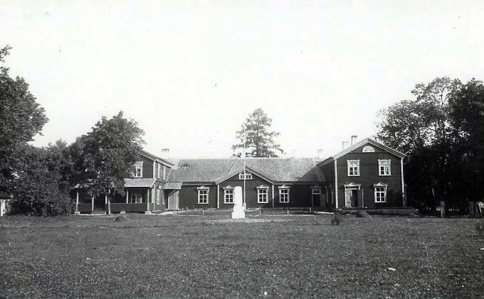 1937. Rahvamaja valmis. Foto F. A. Schmidt. VKF 1234-1.