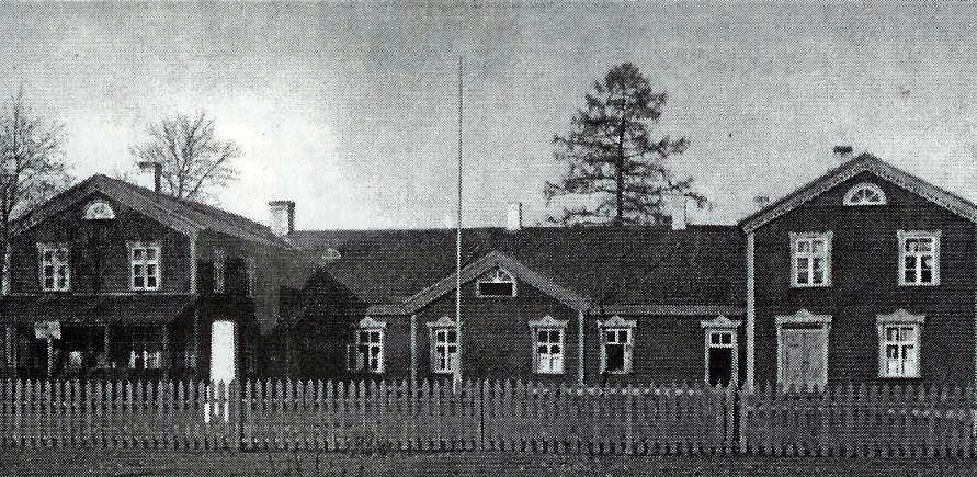 1937. u. Rahvamaja esikülg. Sänna album III.