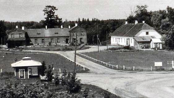1955. u. Vaade hoonetele. Fotoalbum Sänna rmtk. 1917-1967. S